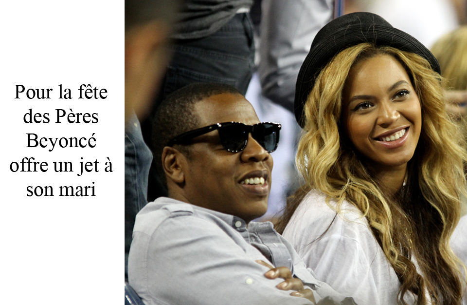 Beyoncé offre un jet à Jay-Z