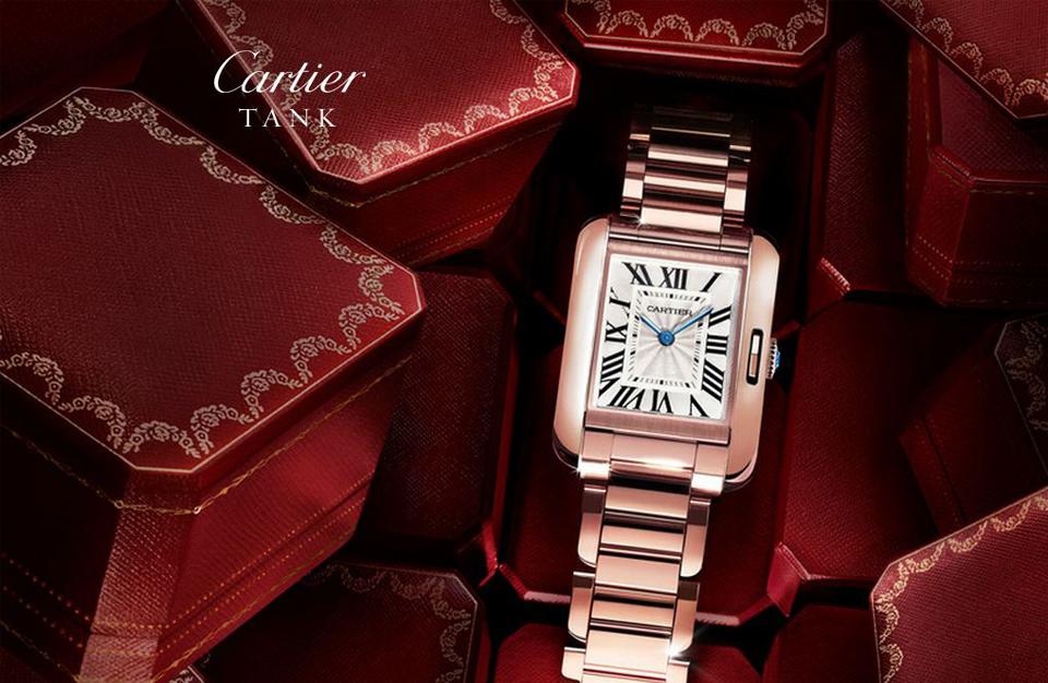 La nouvelle montre Cartier, la Tank Anglaise