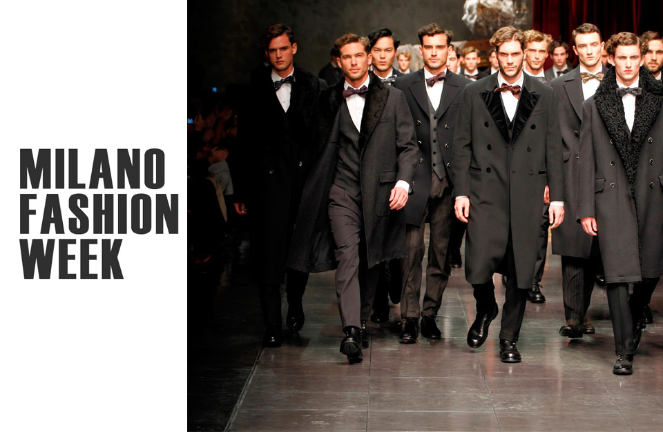 Fashion week men milan
