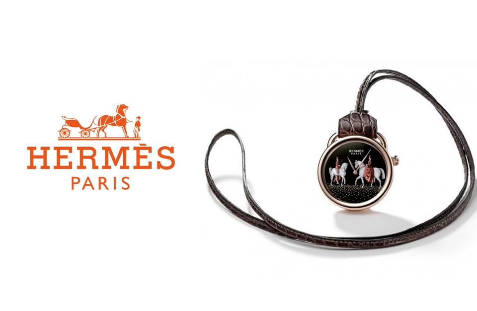 Hermès présente la montre Arceau Pocket Amazones