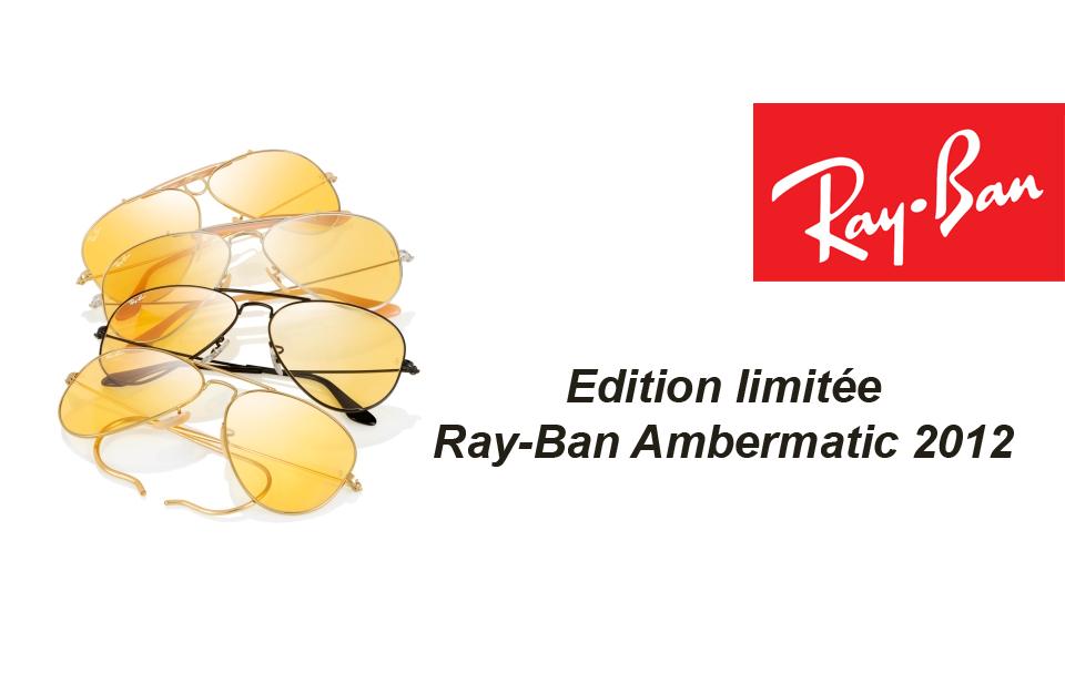 Une Edition limitée pour les 75 ans de Ray-Ban