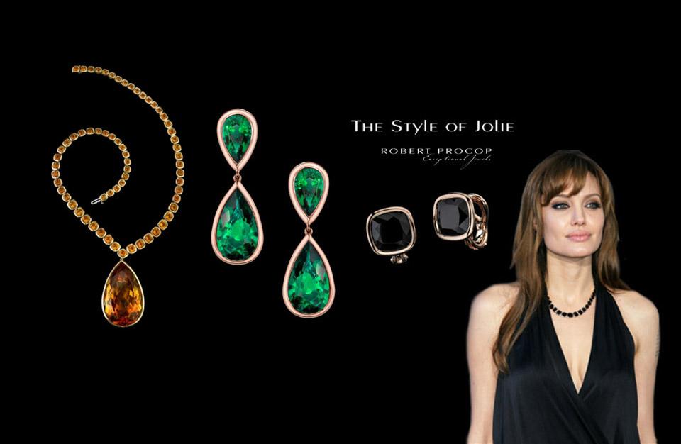 Les bijoux d'Angelina Jolie