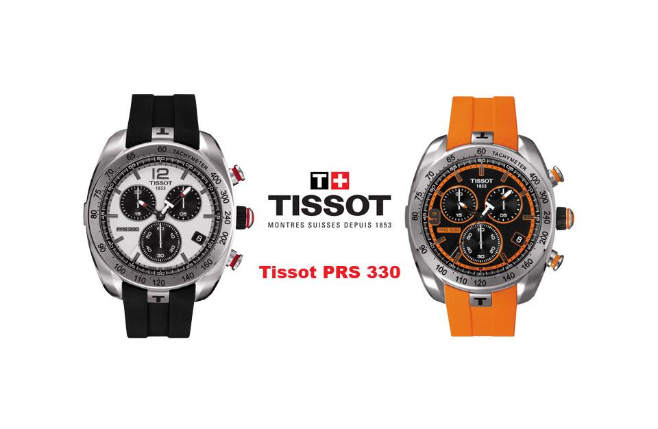 Zoom sur la montre Tissot PRS 330