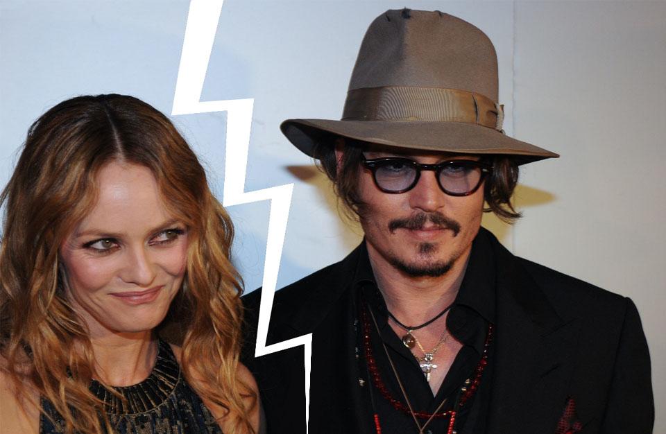 Johnny Depp et Vanessa Paradis : la séparation