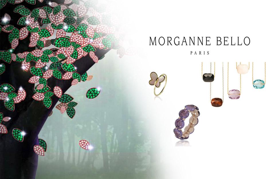 Les bijoux Morganne Bello