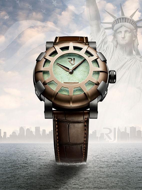 La Liberty DNA de Romain Jerome pour le 125 ème anniversaire de la Statue de la Liberté
