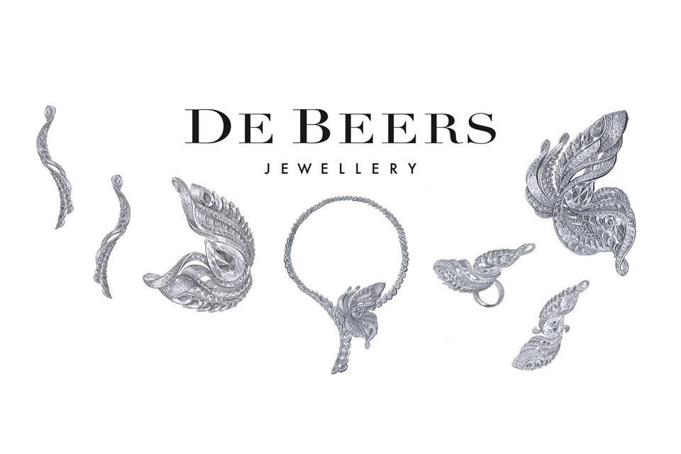 Collection Imaginary Nature de De Beers