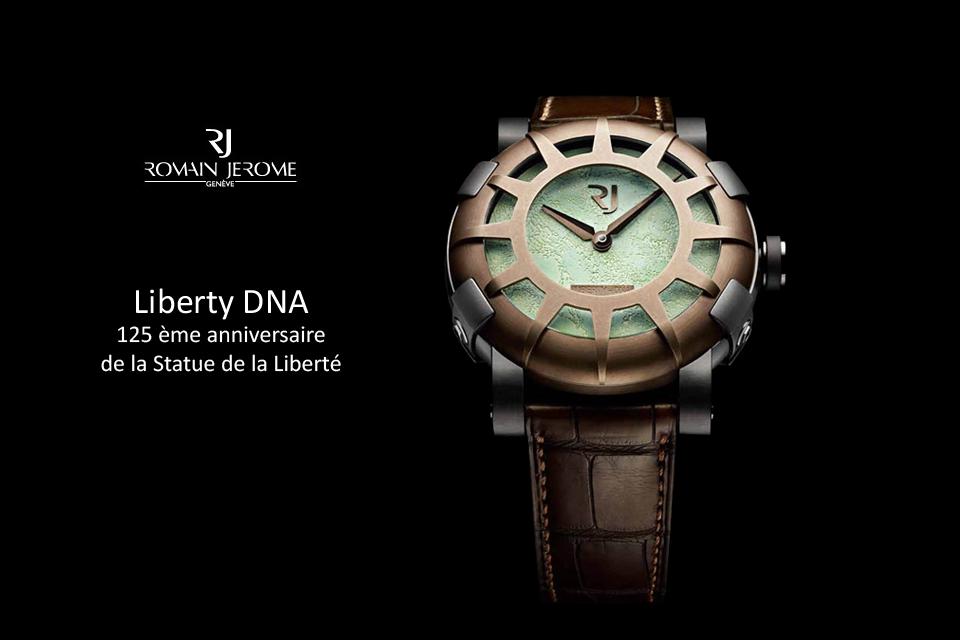 La Liberty DNA de Romain Jerome pour les 125 ans de la Statue de la Liberté