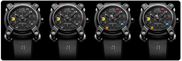 Montres pac-man romain jérome