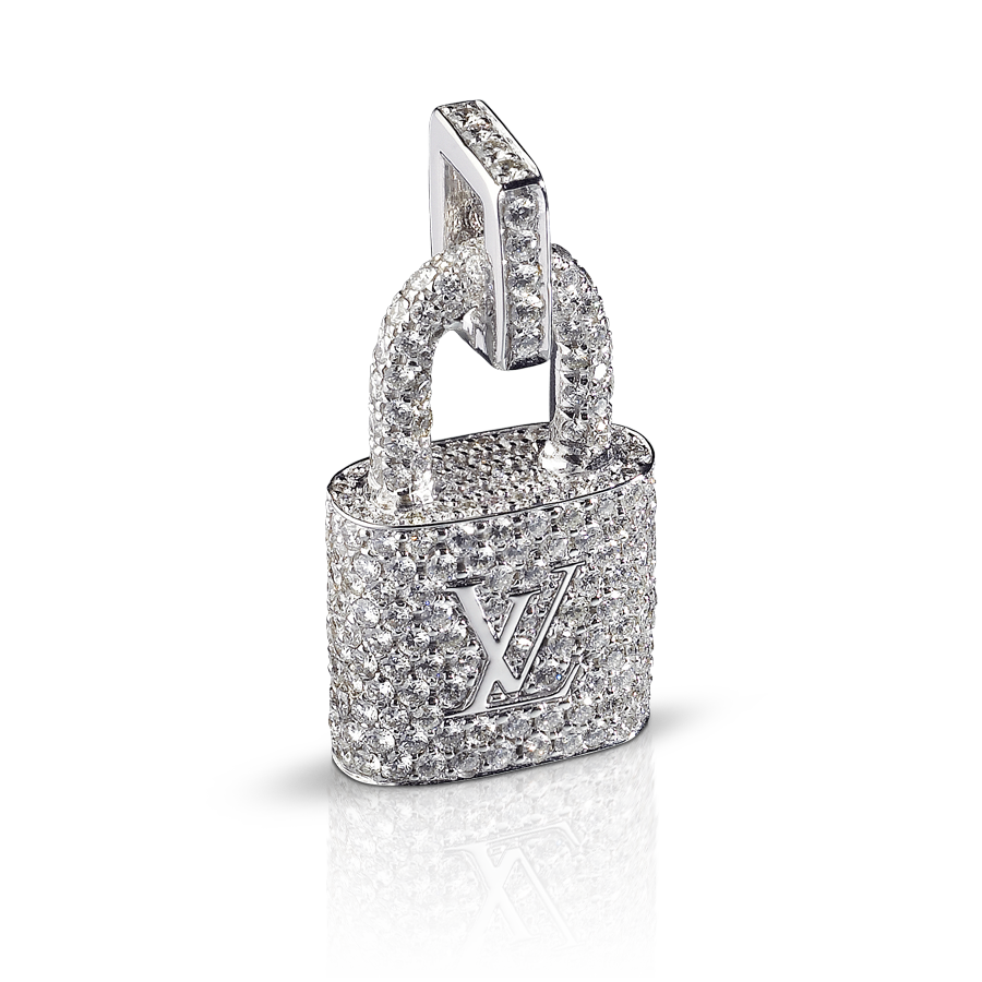 Louis Vuitton pendentif cadenas