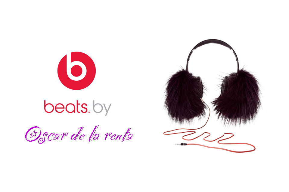 Un casque Beats signé Oscar de la renta édition limitée