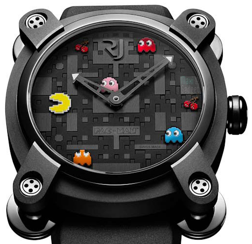 Montre pac-man romain jérome
