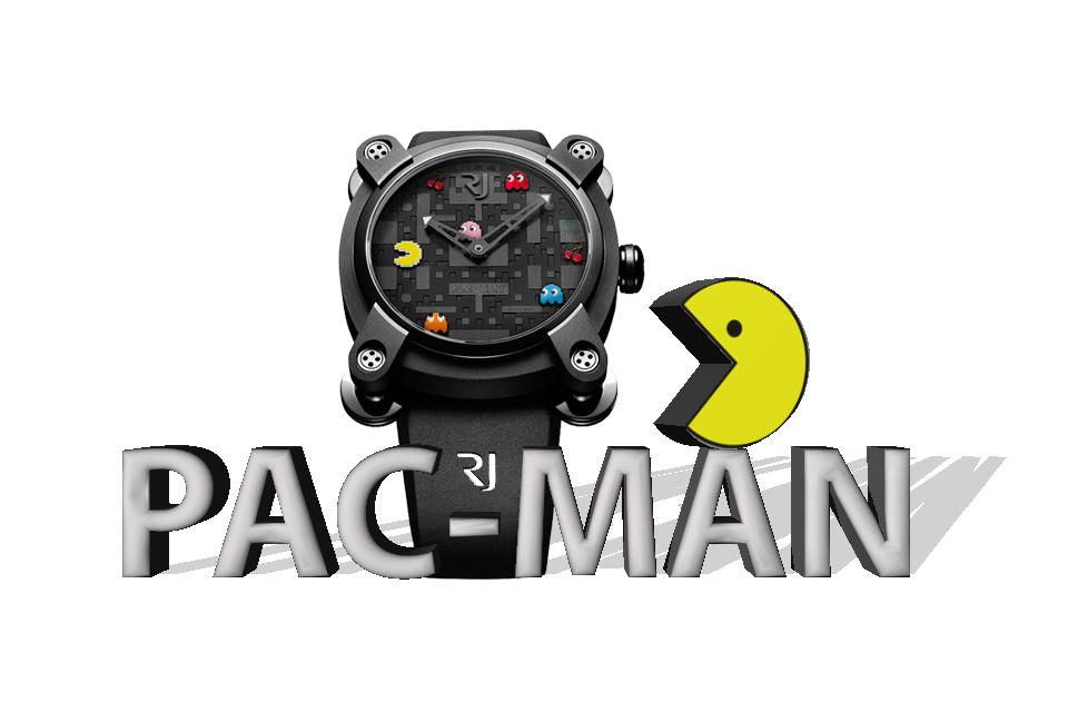 Montre Pac-Man par Romain Jérome