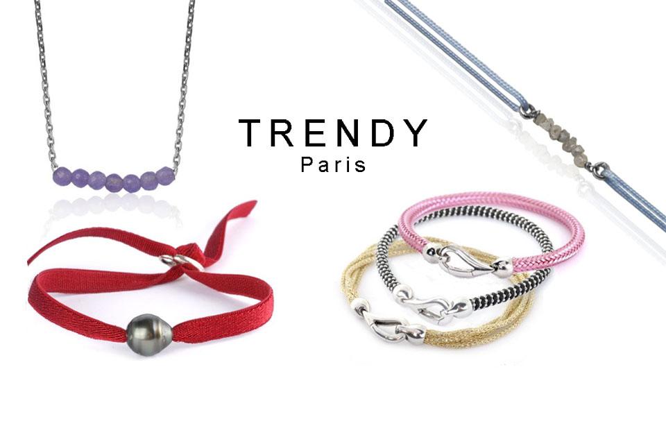 Trendy : bracelets modes et colliers tendances