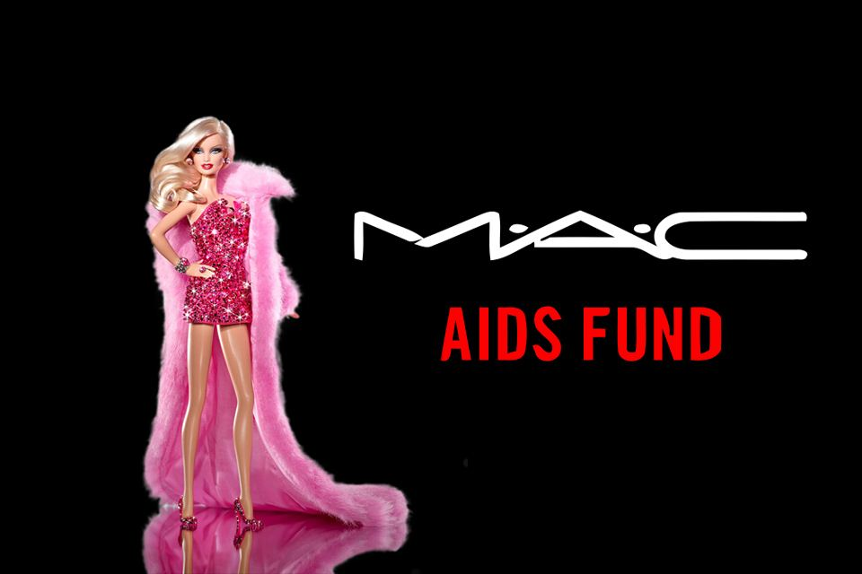 Barbie en diamant mac aids fund