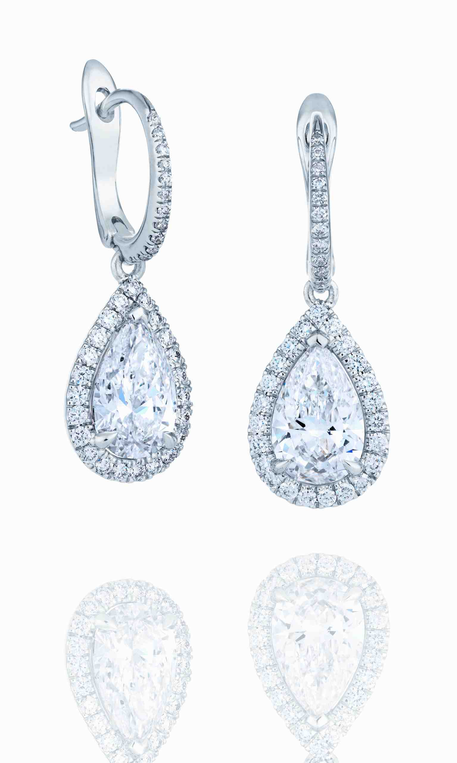 De Beers Aura Dormeuses diamant