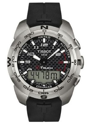 Tissot T-Touch Expert bracelet noir