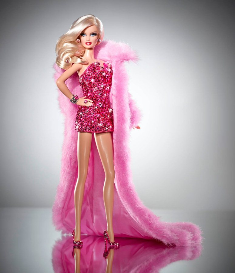 original Pink diamond barbie doll