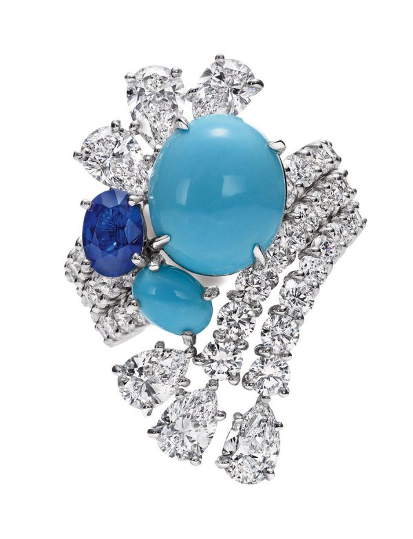 Bague Eclaboussure Collection Water Harry Winston