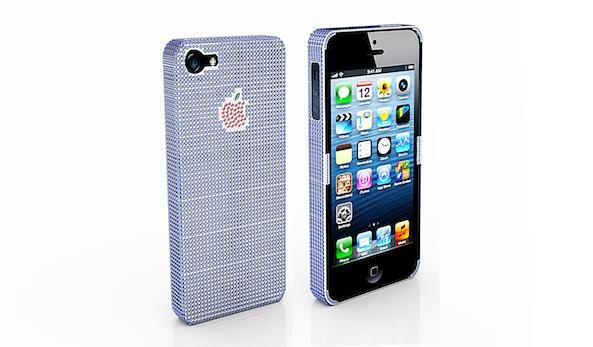 Coque iPhone 5 saphir et rubis