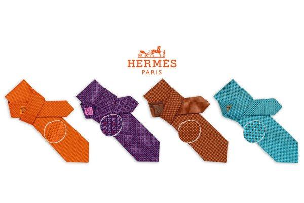 ed1996740b7 Hermès 8 cravates   des cravates jeunes et retro-geek