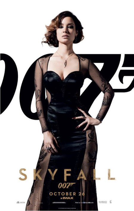 James Bond Skyfall Berenice Marlohe