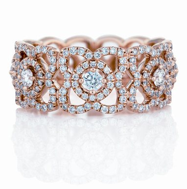 Bague Enchanted Lotus De Beers