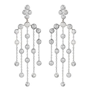 Boucles d'oreilles Longue Diamants Légers Cartier