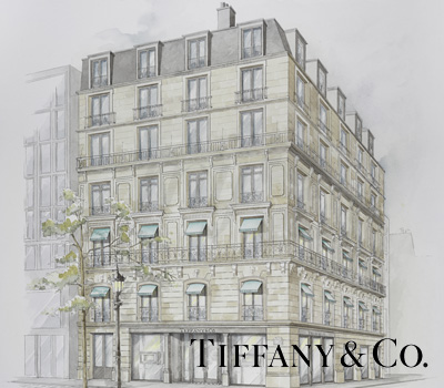 Boutique Tiffany and Co des Champs Elysees Paris