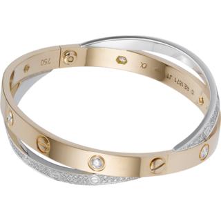 Bracelet love Cartier 2 anneaux