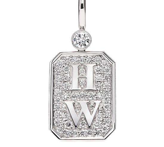Charms logo HW Harry Winston