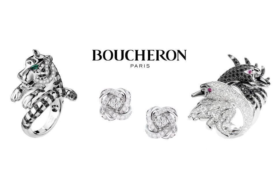 Sélection de bijoux Boucheron pour Noël