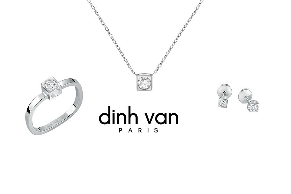 Cube Diamant Dinh Van