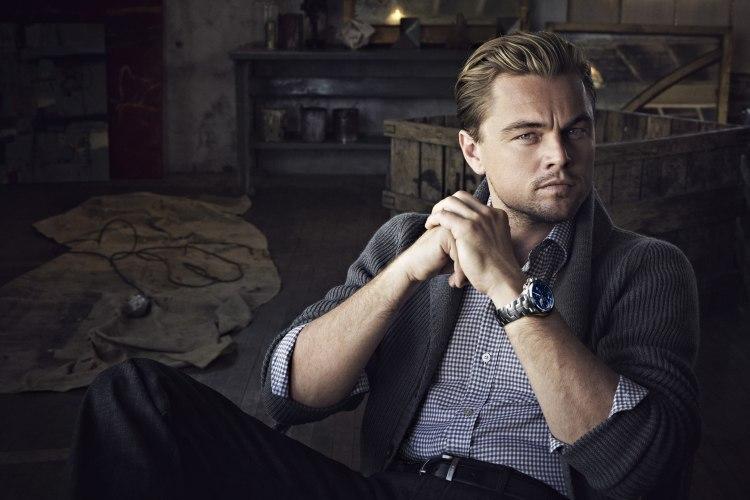 Leonardo DiCaprio avec la Tag Heuer Chronographe Link Calibre 16 Edition Limitée Leonardo DiCaprio