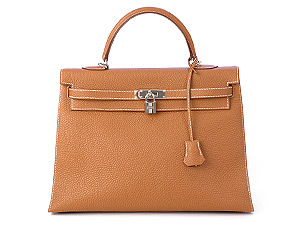 Sac Kelly marron Hermes
