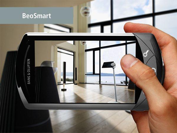 Smartphone de luxe BeoSmart l'écran
