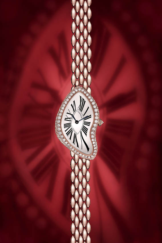Cartier Crash or rose