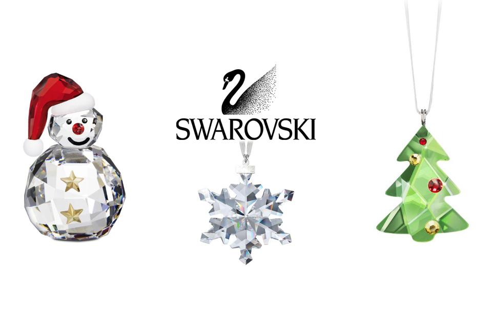 Collection décoration de Noël Swarovski
