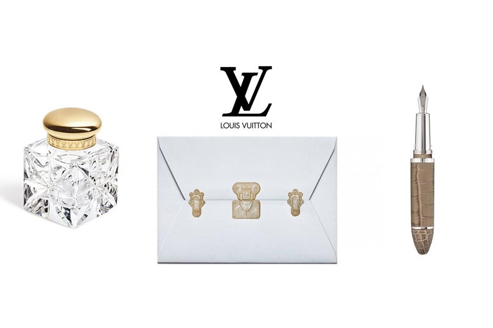Collection papeterie de Louis Vuitton