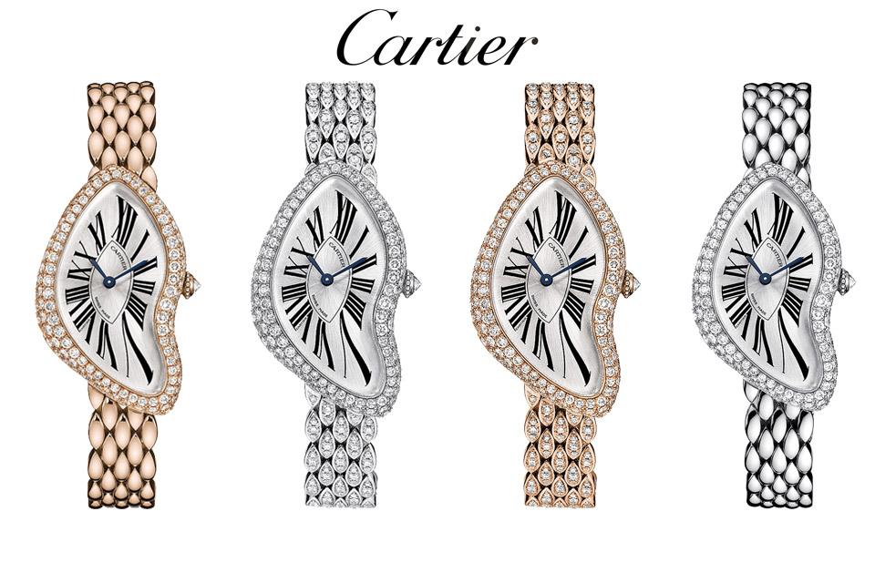 Edition limitée Cartier Crash