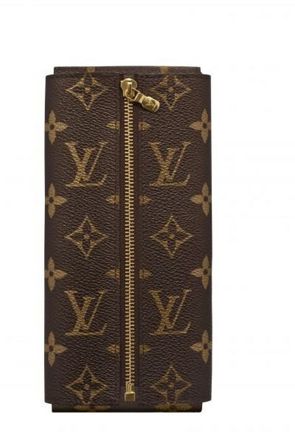 Etui en cuir Louis Vuitton