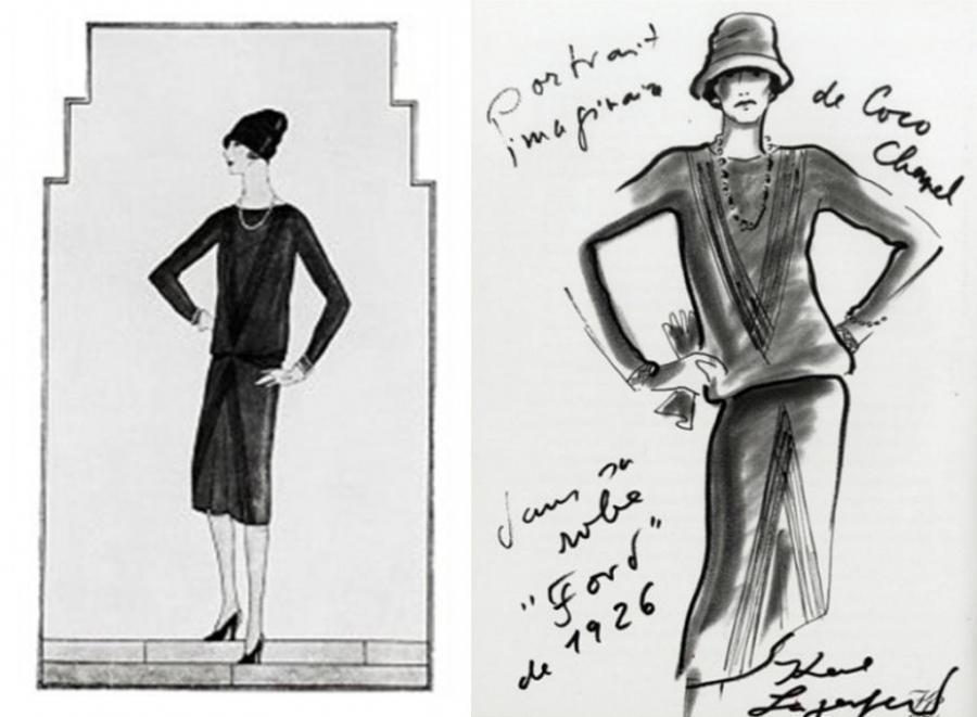 La petit robe noire de Coco Chanel