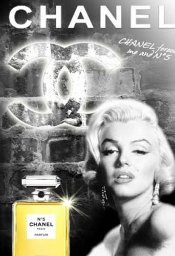 Marylin Monroe dort avec Chanel 5