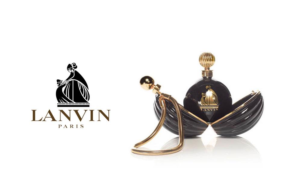 Parfum Lanvin Arpège et la minaudière