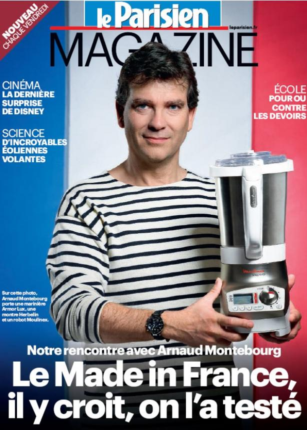 Une Parisien Magazine Arnaud Montebourg et le Made in France