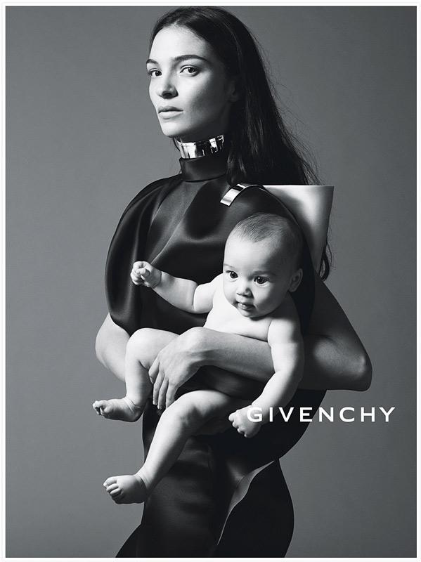 Maria Carla Boscono et son bébé