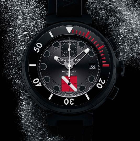 Montre de plongée Louis Vuitton Tambour Diving II Chronographe