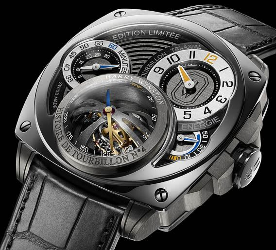 Montre Harry Winston Toubillon 4