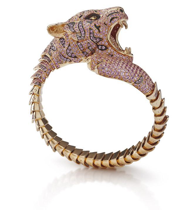 Bracelet Tigre rose