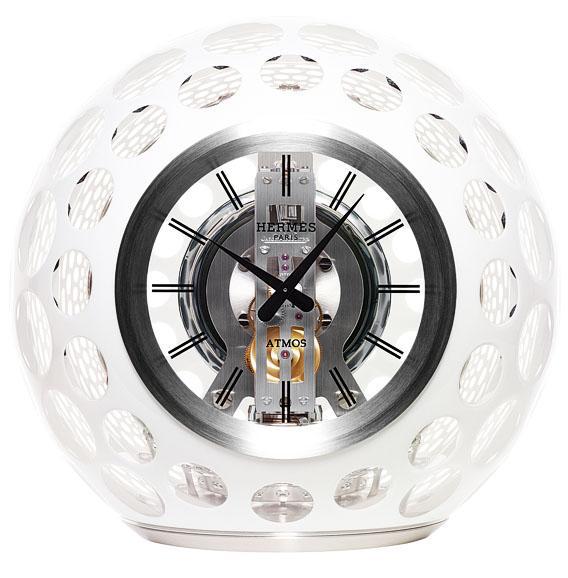 Horloge Hermès Atmos en cristal